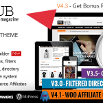"Best wordpress themes for affiliate marketing: ""REHUB"" Buy it from themeforest."