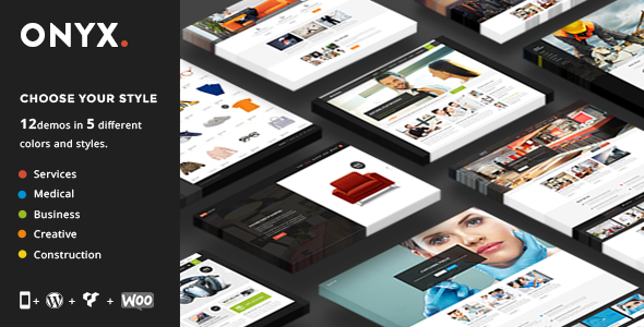 Onyx wordpress business premium theme