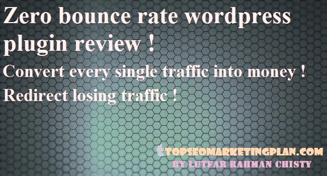 Zero bounce rate wordpress plugin
