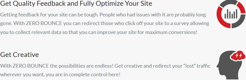 zero bounce rate plugin 4