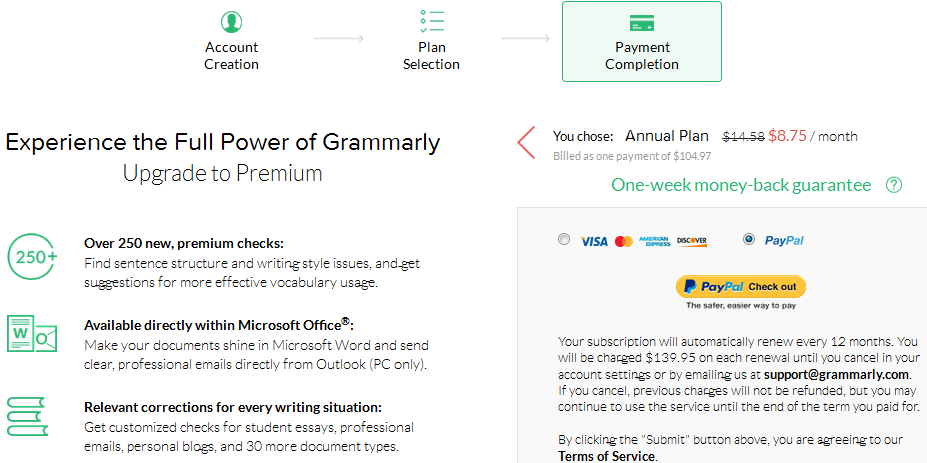 grammarly-payment-support