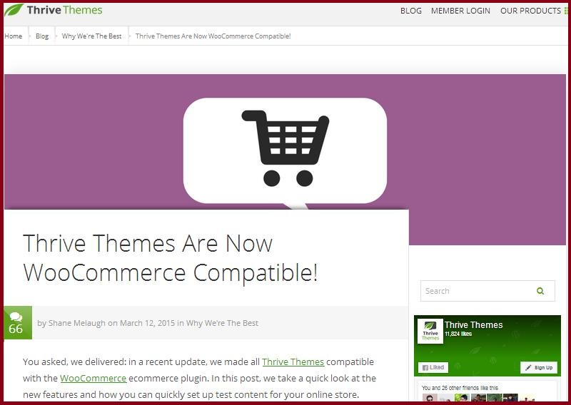 Availability Of  WordPress Themes Thrive Themes In Stores
